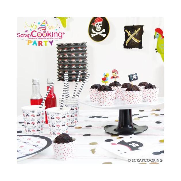 Presentation de la Collection Scrapcooking Party (Pirate Party) (Articles vendus separement)