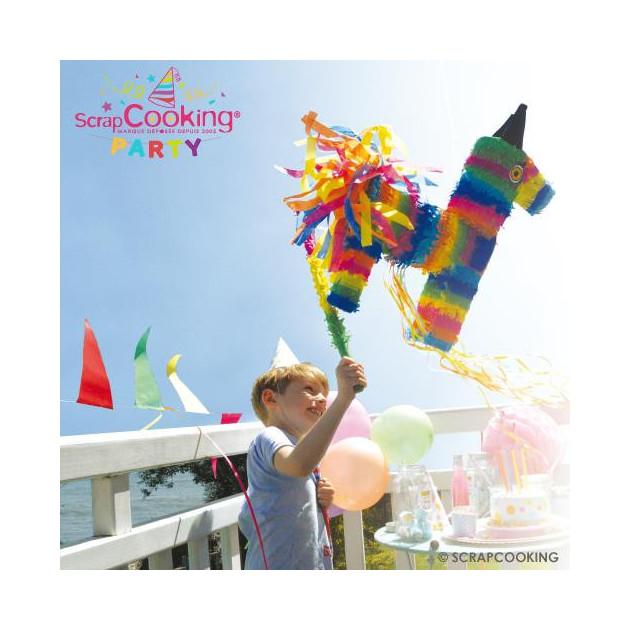 Bâton Multicolore Piñata Scrapcooking
