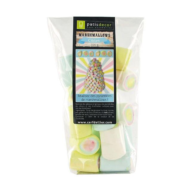 Marshmallows Cibles 100 g Patisdecor