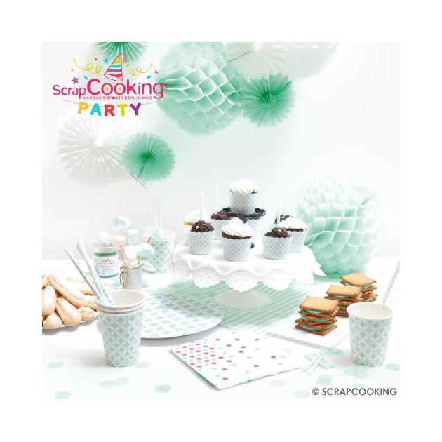 FIN DE SERIE Presentation de la Collection Scrapcooking Party (Sweet Party) Articles vendus separement