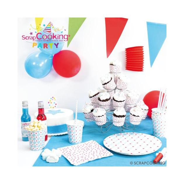 FIN DE SERIE Collection Graphic Party de Scrapcooking Party (Articles vendus separement)