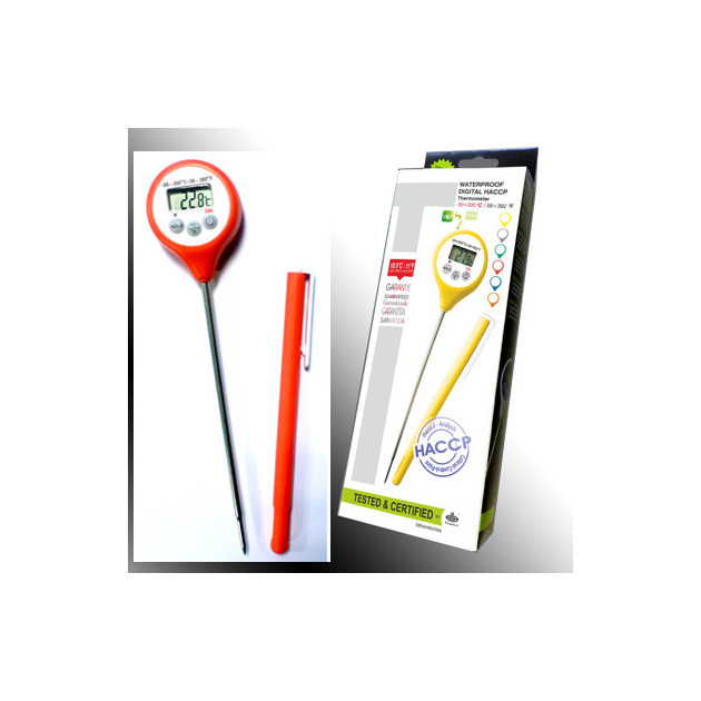 Thermometre Digital a Sonde etanche HACCP