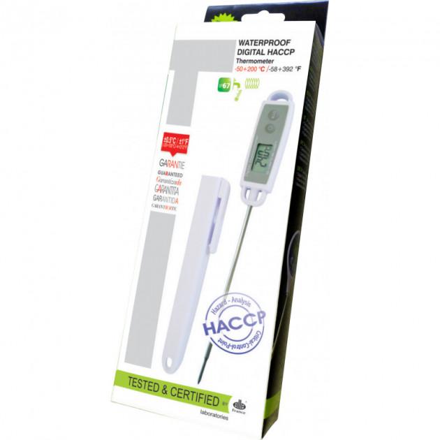 Thermometre digital a sonde etanche pour professionnels -50°C a +200°C