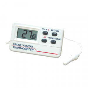 Thermomètre frigo-congélateur digital HACCP -50°C à +70°C