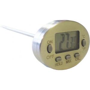 Thermomètre sonde digital tout inox -50°C à +300°C