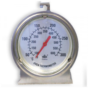 Thermomètre Four gros cadran +50°C +300°C