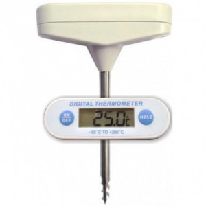 Thermomètre sonde digital et vissable
