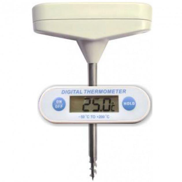 Thermometre sonde digital et vissable