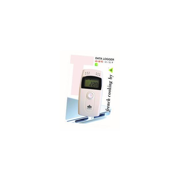 Enregistreur de temperature et humidite -40°C +85°C. 0-99%RH