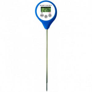 Thermomètre Digital étanche à sonde HACCP bleu -50°C à +200°C