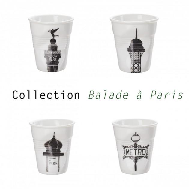 Collection Balade a Paris des Gobelets Froisses Revol