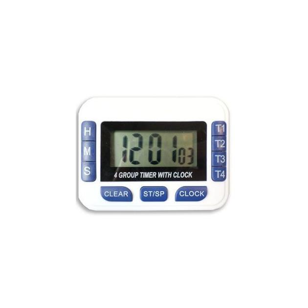 Thermometre Digital 4 en 1 avec aimant