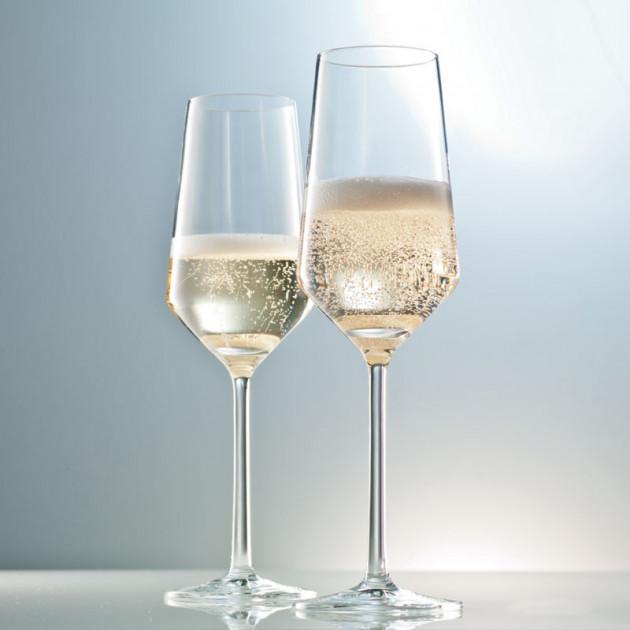 Flûtes a Champagne en Cristal Schott Zwiesel PURE