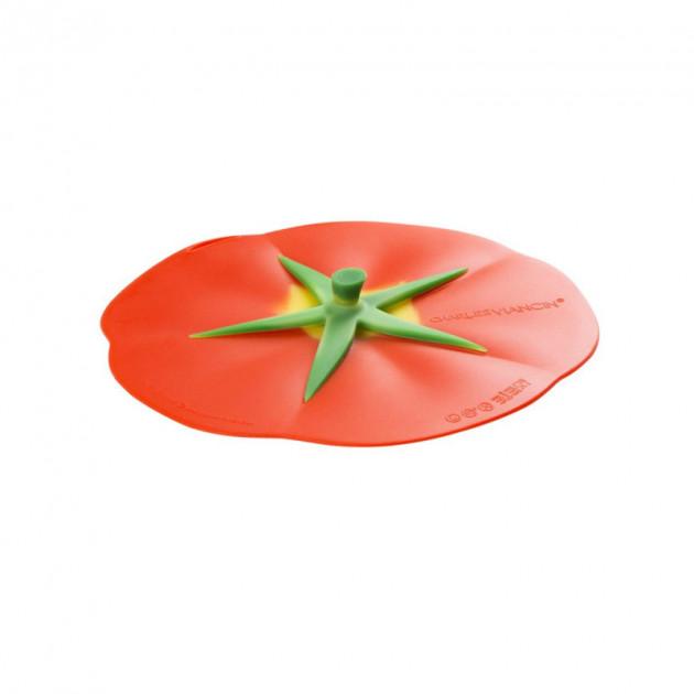 FIN DE SERIE Couvercle Silicone Tomate 23 cm Charles Viancin