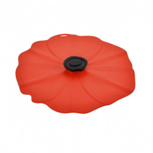 Couvercle Silicone Coquelicot 28 cm Charles Viancin