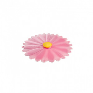 Couvercle Silicone Marguerite Rose 20 cm Charles Viancin