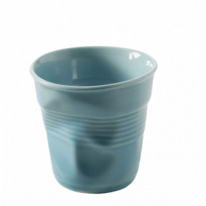 Gobelet Froissé Bleu Caraïbes 8cl Revol