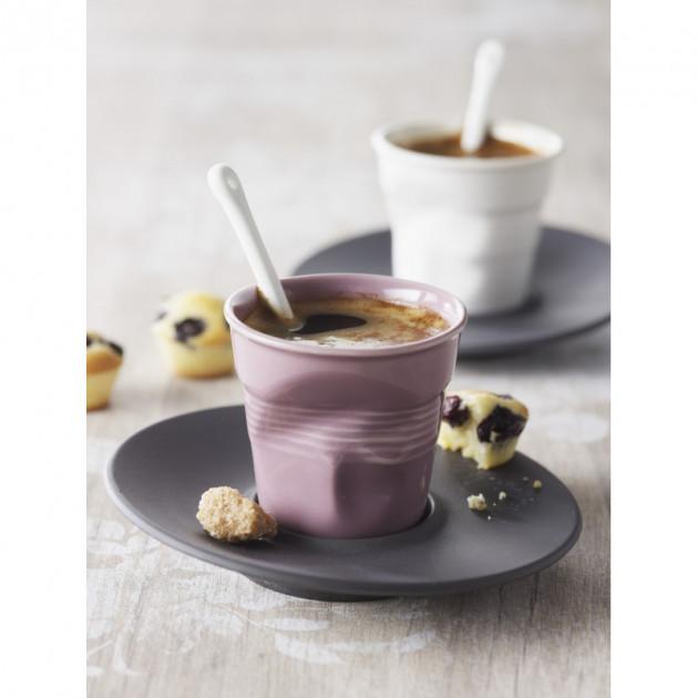 Espresso dans les Gobelets Froisses Revol
