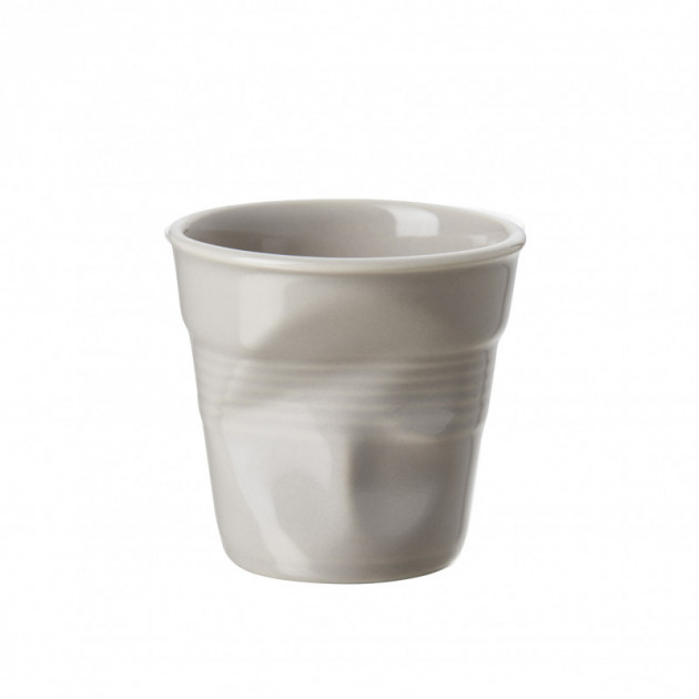 Gobelet Froisse Taupe 8cl Revol