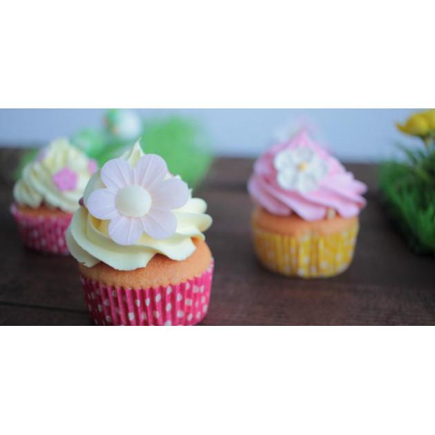 Utilisation du Color'Arome Jaune / Citron pour la realisation de cupcakes
