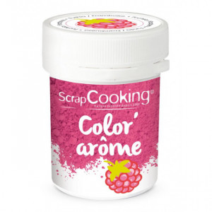 Color'Arôme Rose / Framboise 10g Scrapcooking