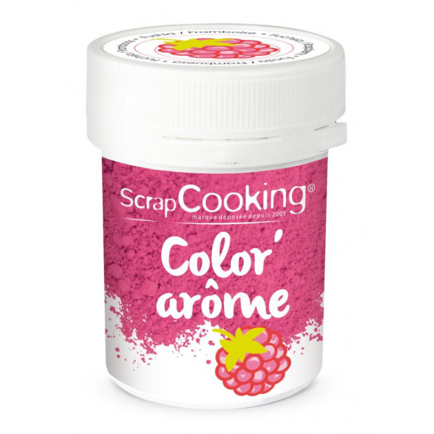 Color'Arome Rose / Framboise 10g Scrapcooking