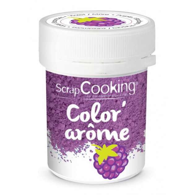 Color'Arome Violet / Mûre 10g Scrapcooking