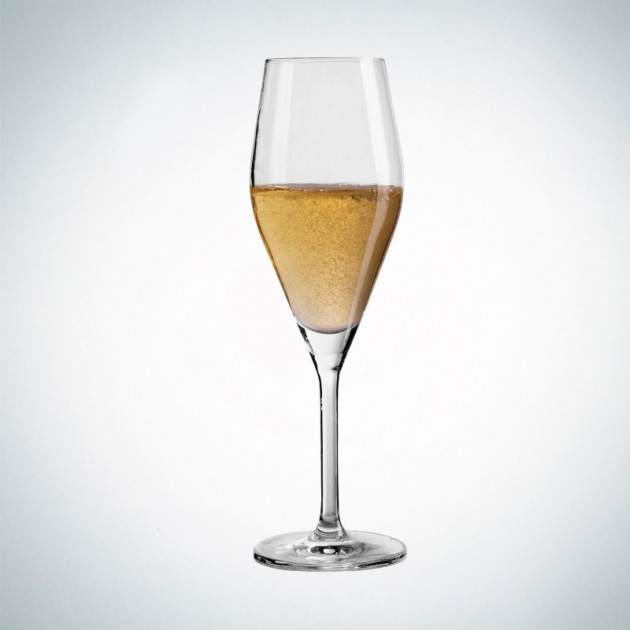 FIN DE SERIE Flûte a Champagne Schott Swiesel AUDIENCE avec points d'effervescence