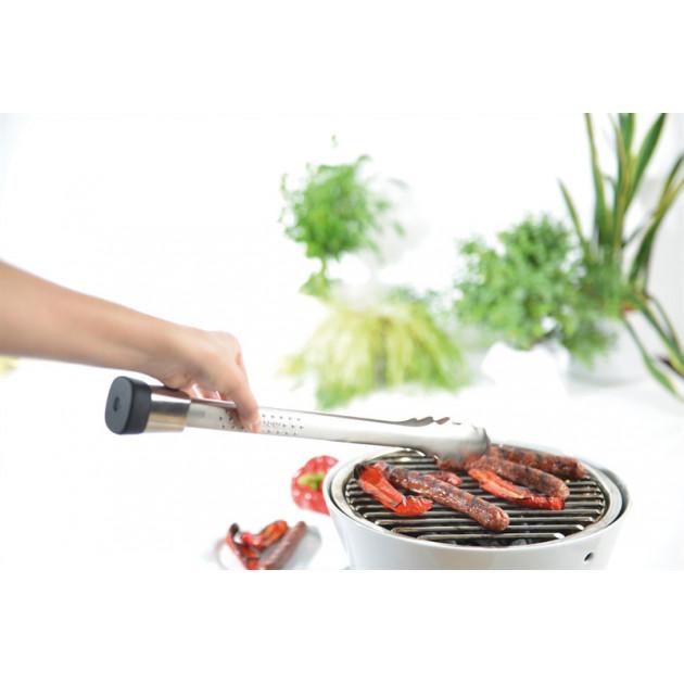 Pince de cuisine extra-longue pour barbecue et four pour ne plus se brûler