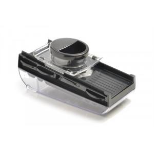 Mandoline de Cuisine 5 lames avec réservoir noir Mastrad