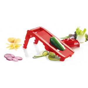 Mandoline de Cuisine Multi-Lames inox rouge Mastrad