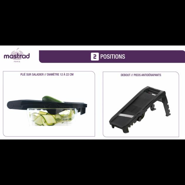 2 Positions pour la Mandoline Multi-Lames