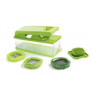 Coupe Légumes avec réservoir et grilles interchangeables vert Mastrad