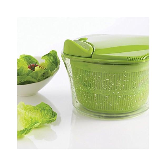 Essoreuse a salade : bol pouvant etre utilise en saladier