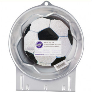 Moule Aluminium Demi Ballon de foot Ø 22 cm Wilton