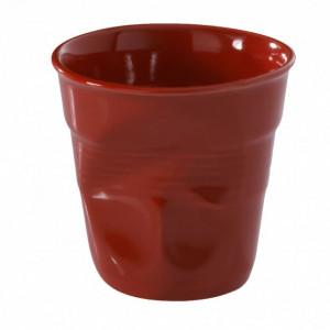Gobelet Froissé Rouge Piment 18cl Revol