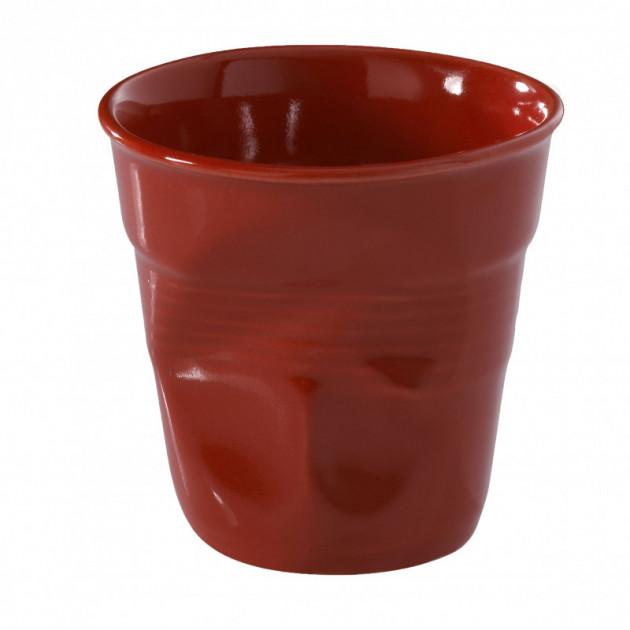 Gobelet Froisse Rouge Piment 18cl Revol