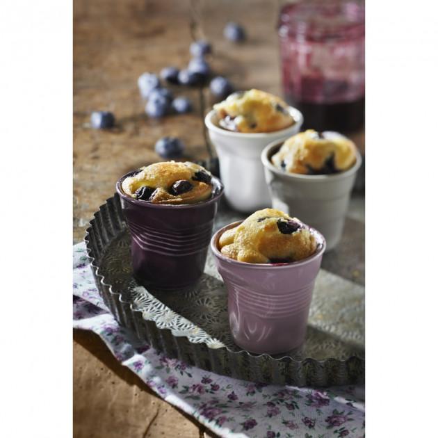 Muffins dans un gobelet Froisse Revol
