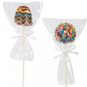 Sachets à Cake Pops individuels x12 Wilton