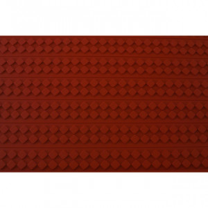 Tapis Relief silicone Damier 30 mm