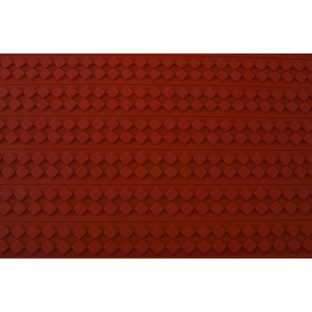 Tapis Relief silicone Damier 30 mm - Tapis de cuisson 560 x 390 mm