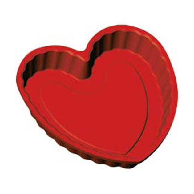 Moule forme Coeur en silicone Bake Flex 22 x 21.8 cm Guery