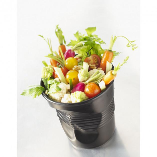 Salades dans le Gobelet Froisse. Pot Buffet Revol