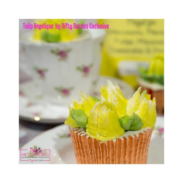 Douille fleur : idee de realisation sur un cupcake