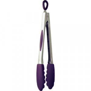 FIN DE SERIE Pince de Cuisine avec crochet 26 cm Violet Mastrad