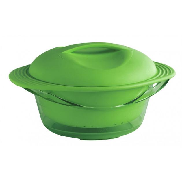Cuit Vapeur en Silicone Vert Mastrad