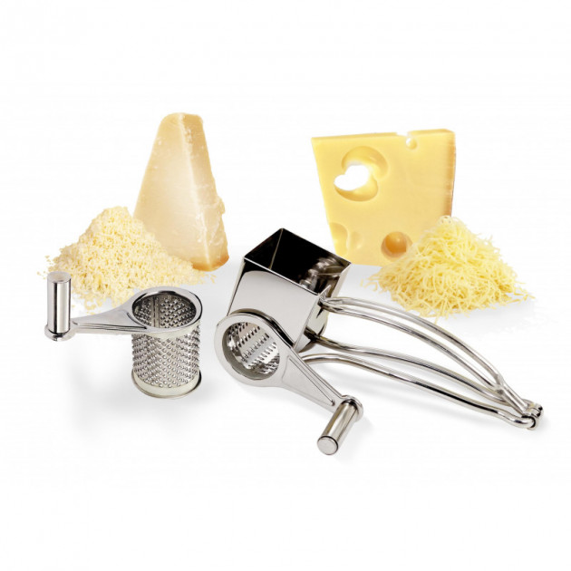 Moulin Rape a Fromage inox 2 tambours