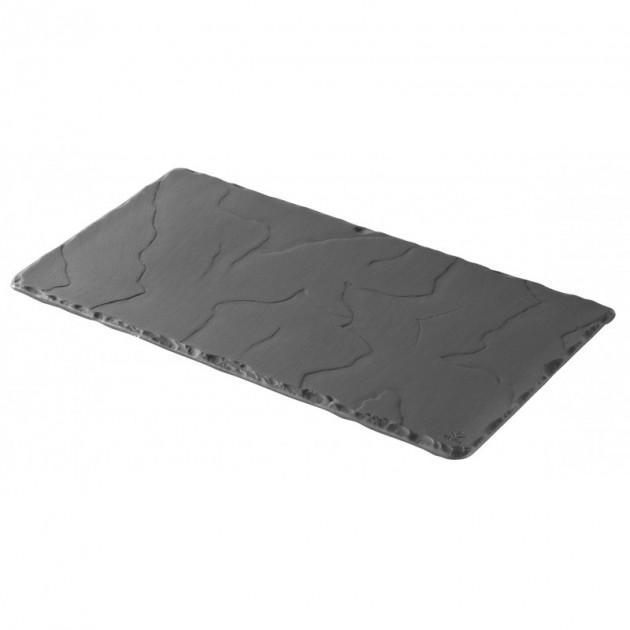 Assiette Rectangulaire Ardoise 30 x 16 cm Basalt Revol