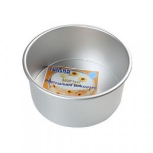 Moule à gâteau rond extra-profond Ø 17,5 cm H 10 cm pour panettone et brioche