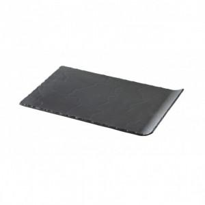 Assiette Rectangulaire Ardoise 33,2 x 20 cm Basalt Revol